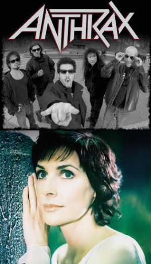 Who would win - Anthrax or Enya?