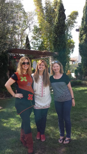 Three of Tule Founding Authors (from left) Megan Crane, Jane Porter, C.J. Carmichael