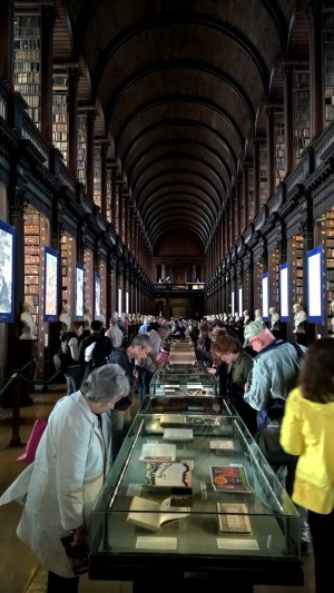 Now this is a library!  (Trinity College Library)