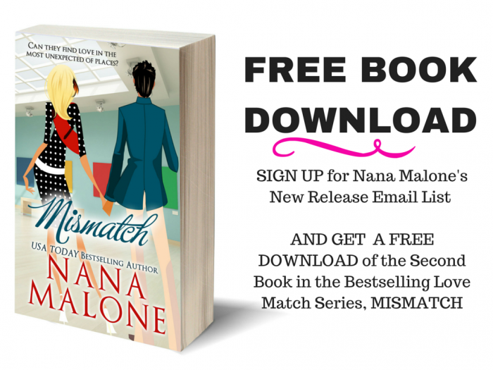Nana Malone is a smart and savvy author who has has built a strong and positive reader following.