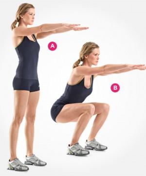 Squat Exercises  Image: www.womenshealthmag.com